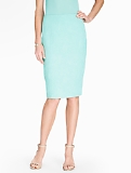 Matelass� Pencil Skirt