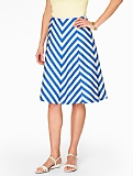 Chevron Stripe Skirt