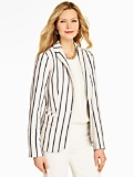 Nautical Stripes Blazer