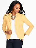 Cotton Piqu� Blazer