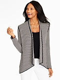 Spectator Stripes Cardigan