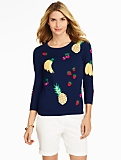 Scattered Fruit Sweater