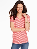 Diagonal Stripes Tee