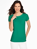 Shoulder-Button Pocket Tee
