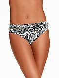 Shirred Swim Bottoms - Batik Floral