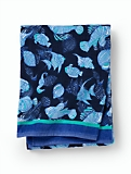 Velour Beach Towel - Sealife