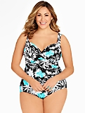 Womans Sanibel Tropical Flower Miraclesuit�