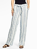 Wide-Leg Pant - Topsail Stripes