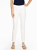 Talbots Hampshire Ankle Pant-Diamond Piqu�