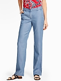 Relaxed TENCEL(R) Trouser - Champlain Wash