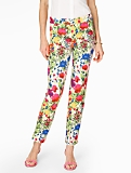 Garden Flowers Tailored Ankle Pant