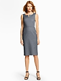 Summer Cotton Sheath Dress