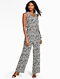 Shadow Paisley Jumpsuit