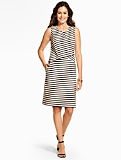 Tropic Stripes Shift Dress