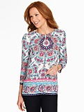 Exotic Floral Tunic