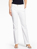 Luxe Cotton Trouser - White