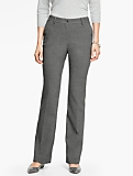 Talbots Raleigh Pant-Double Crepe/Shadow Heather