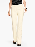 Talbots Raleigh Pant - Double Weave/Ivory