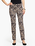 Talbots Hampshire Ankle Pant-Paisley