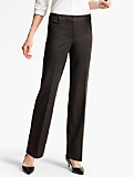 Refined Bi-Stretch Straight-Leg Pant