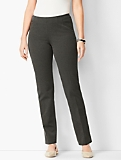 Refined Bi-Stretch Side-Zip Slim Leg - Curvy