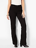 The Flawless Five-Pocket Flare - Curvy/Black