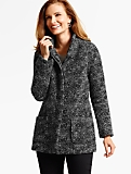 Modern Tweed Coat
