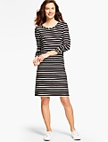 Stripes Terry Dress