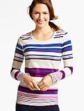 Mixed-Stripes Tee