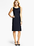 Seasonless Wool Sheath Dress