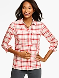 The Classic Everyday Shirt - Lumberjack Plaid