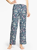 Stain Glass Paisley Pajama Bottom