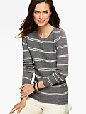 Classic Crewneck Sweater - Stripes