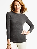Cashmere Audrey Sweater - Donegal Tweed