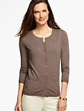 Long-Sleeve Charming Cardigan - Merino Wool