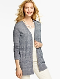 Marled No-Close Cardigan