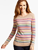 Blocked Multistriped Sweater