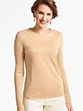 Long-Sleeve Crewneck Tee-Sparkle