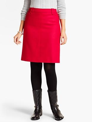 Classic Shetland A-Line Skirt | Talbots
