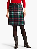 Confetti-Plaid A-Line Skirt