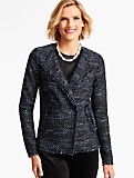 Fringed Vienna Tweed Jacket