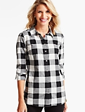 The Classic Casual Shirt-Buffalo Plaid