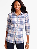 The Classic Casual Shirt - Fanciful Plaid