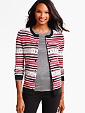 Charming Cardigan-Fair Isle