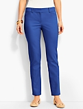 Talbots Hampshire Double-Weave Ankle Pant