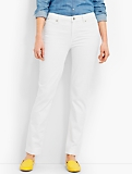 Flawless Five-Pocket Ankle - Talbots White