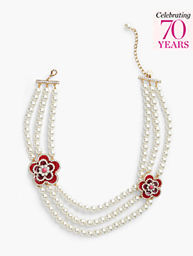 Exclusive Anniversary Collection Pearl Necklace