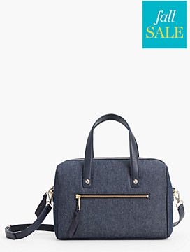 Denim Doctor Bag