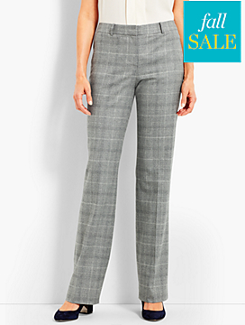 Luxe Glen Plaid Trouser