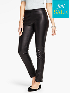 Talbots Leather Legging